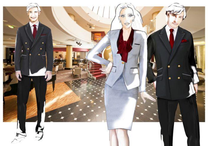 návrhy oděvů