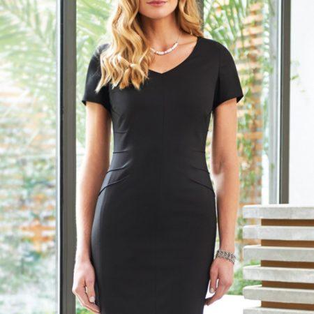 Pracovní šaty dámské černé