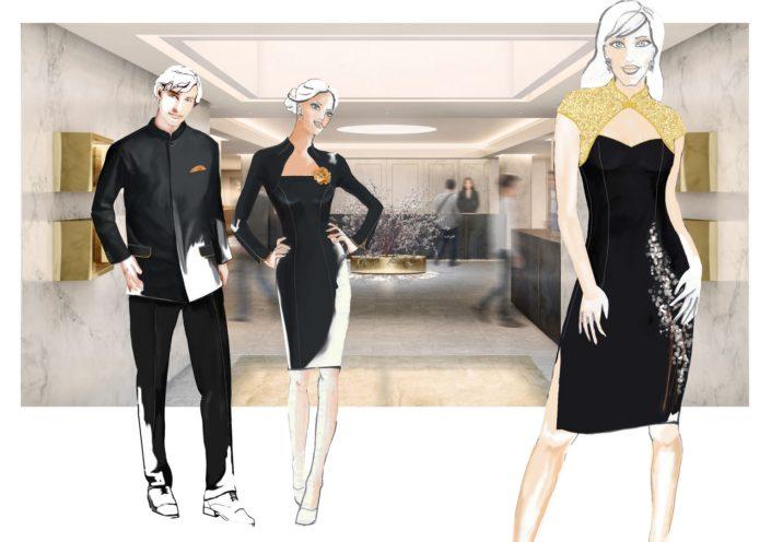Návrhy pracovních oděvů a uniforem