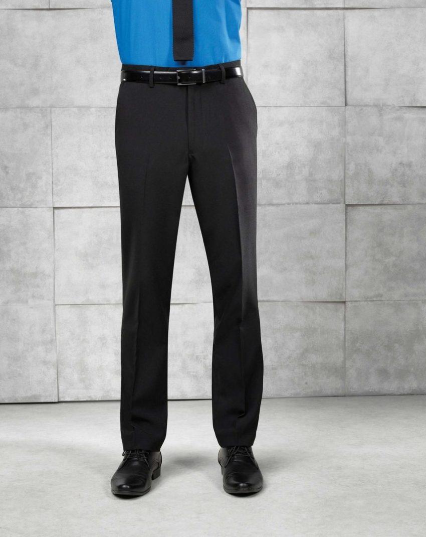 pracovní kalhoty pánské černé