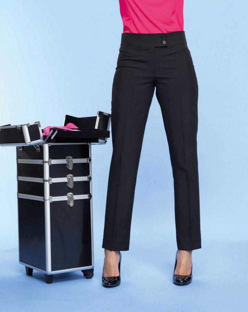 pracovní kalhoty dámské černé