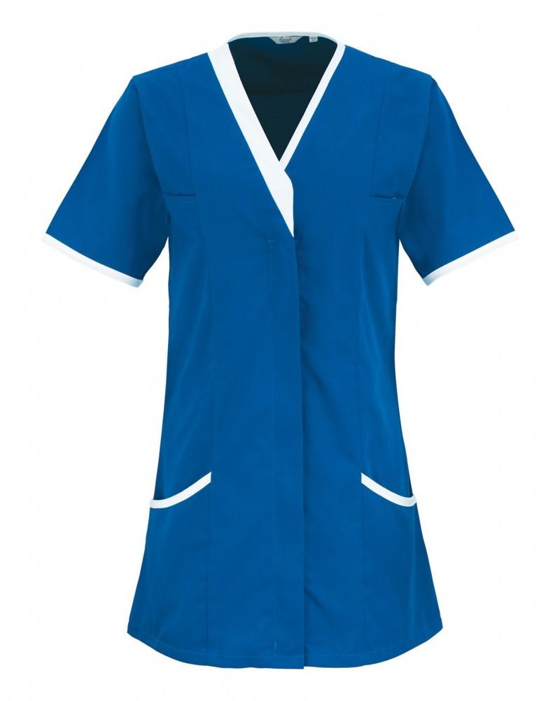 pracovní halena modrá, zdravotnická