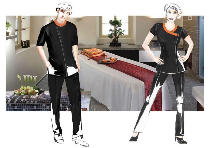 návrhy oděvů a uniforem