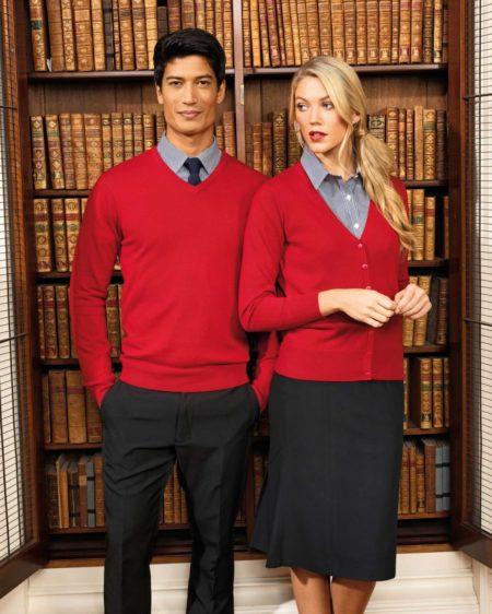 pracovní pánské a dámské svetry