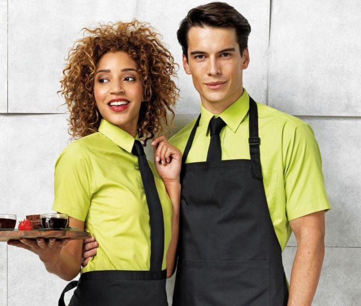 oblečení pro restaurace, kavárny a bary
