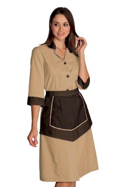 šaty béžové, hnědé