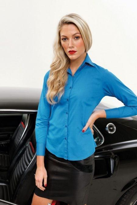 košile dámská modrá