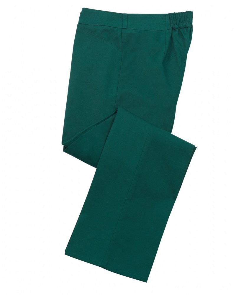 pracovní kalhoty dámské zelené