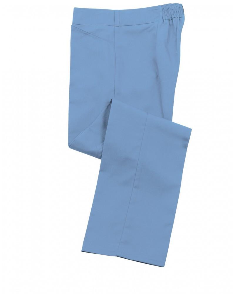 pracovní kalhoty dámské světle modré