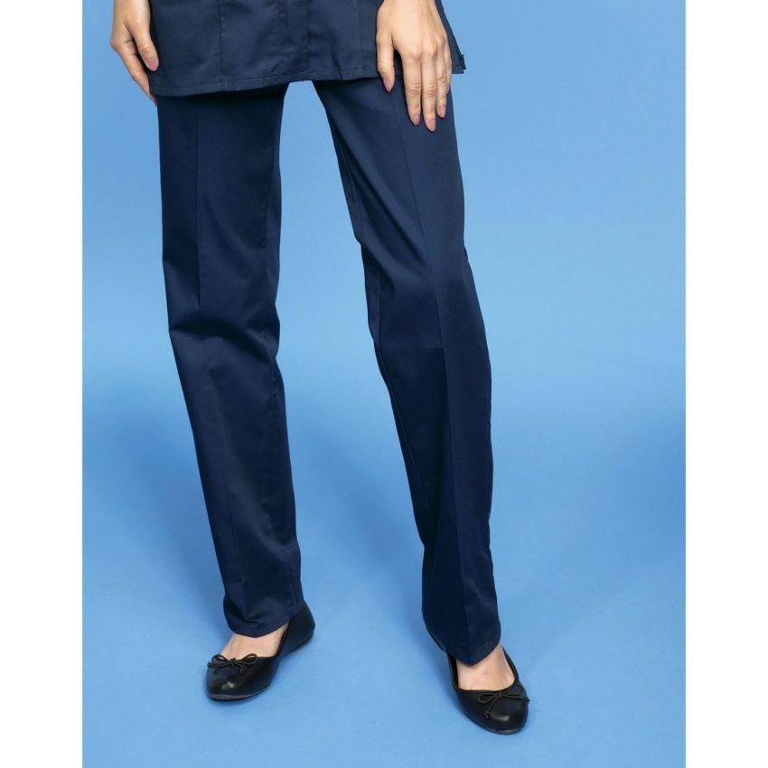 pracovní kalhoty dámské modré