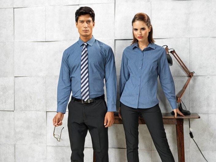 pracovní košile pánské a dámské