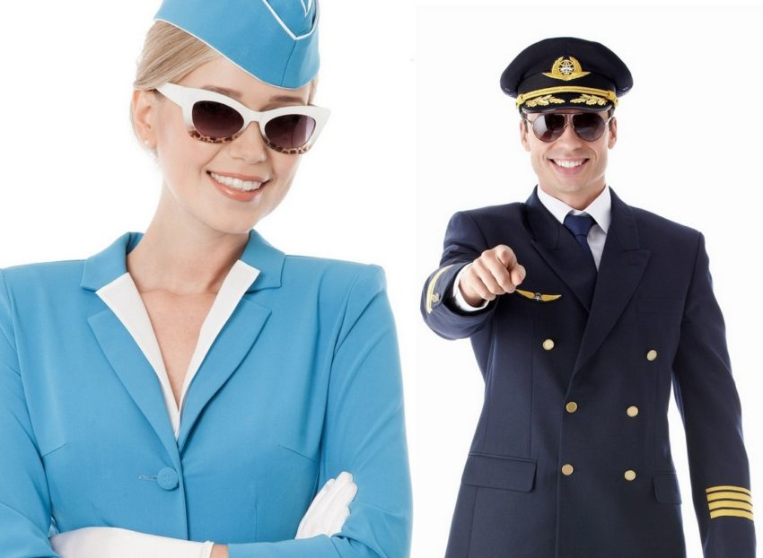 uniforma pilot, uniforma steward