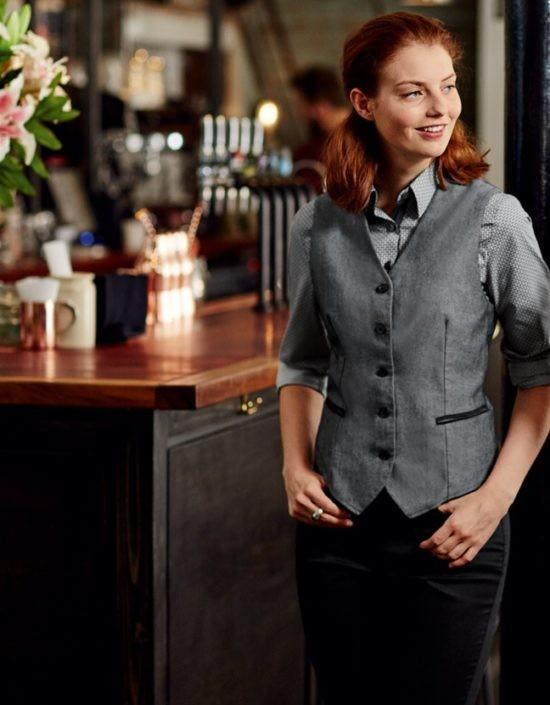 vesty džíns