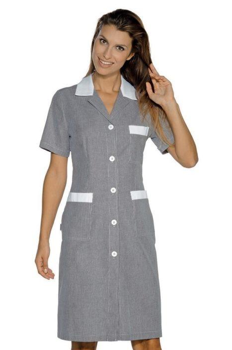 šaty pokojská šedé