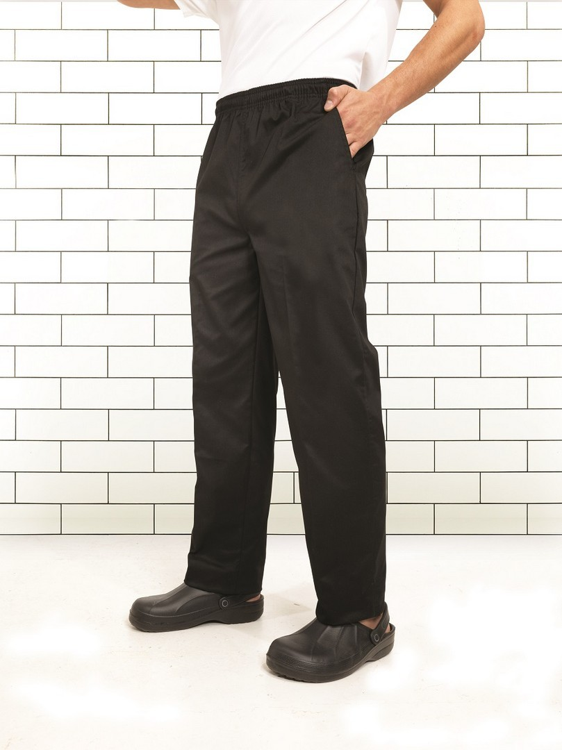 kuchařské pracovní kalhoty