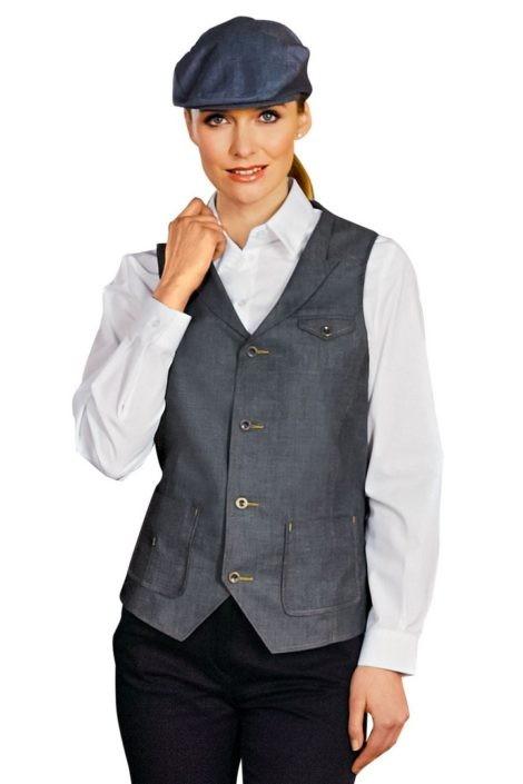 vesta dámská jeans