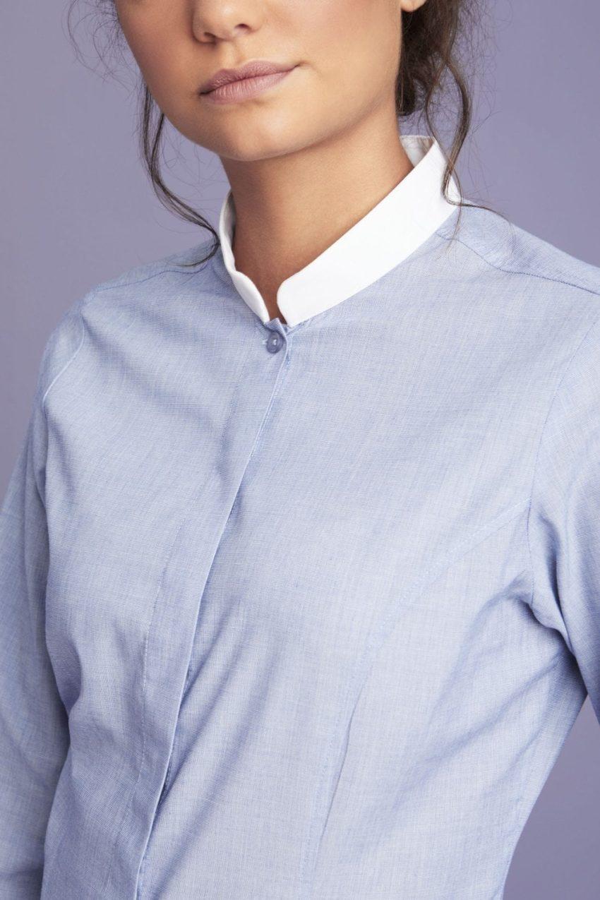 košile dámská se stojáčkem