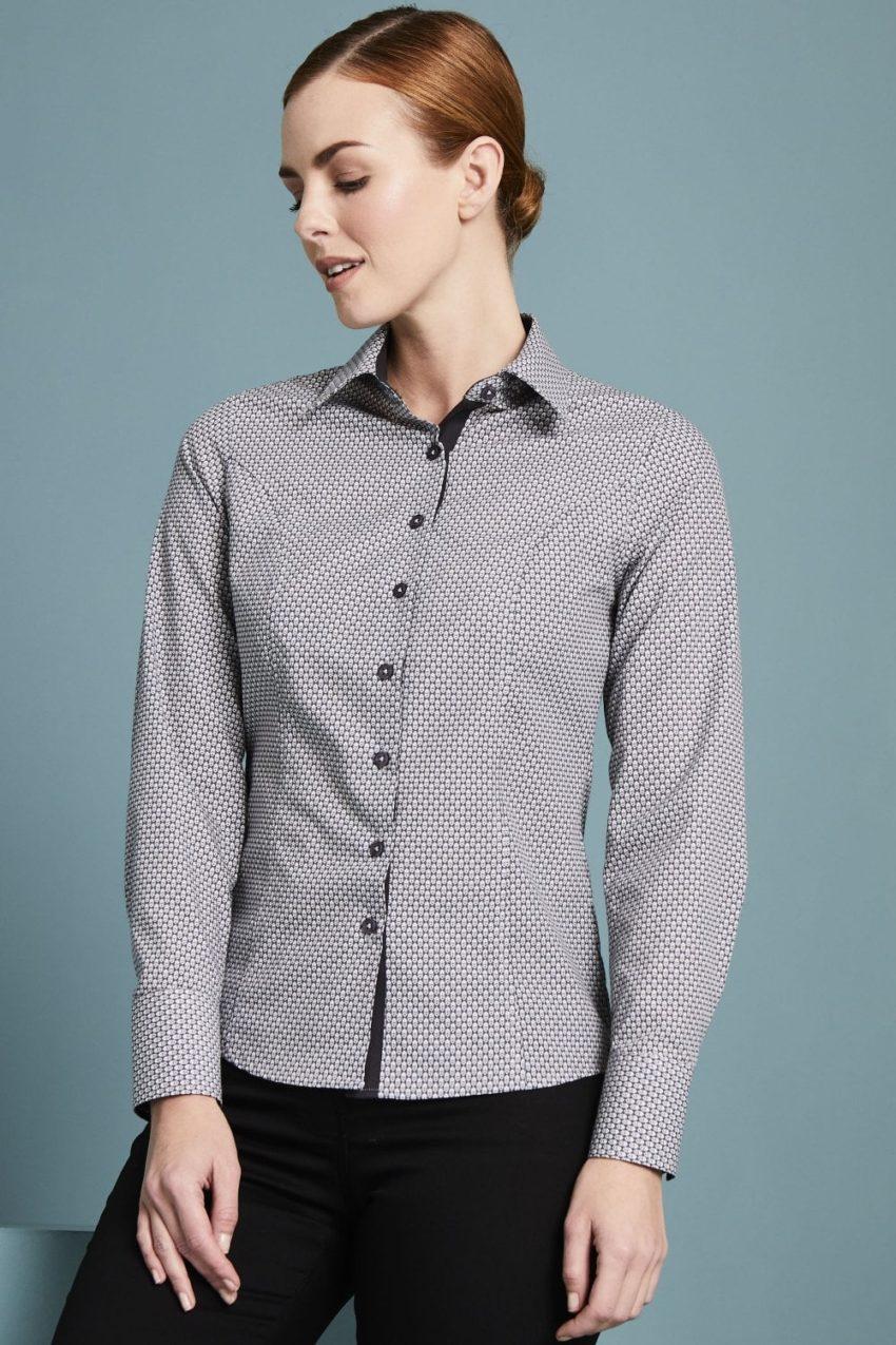 košile dámská tištěný vtor