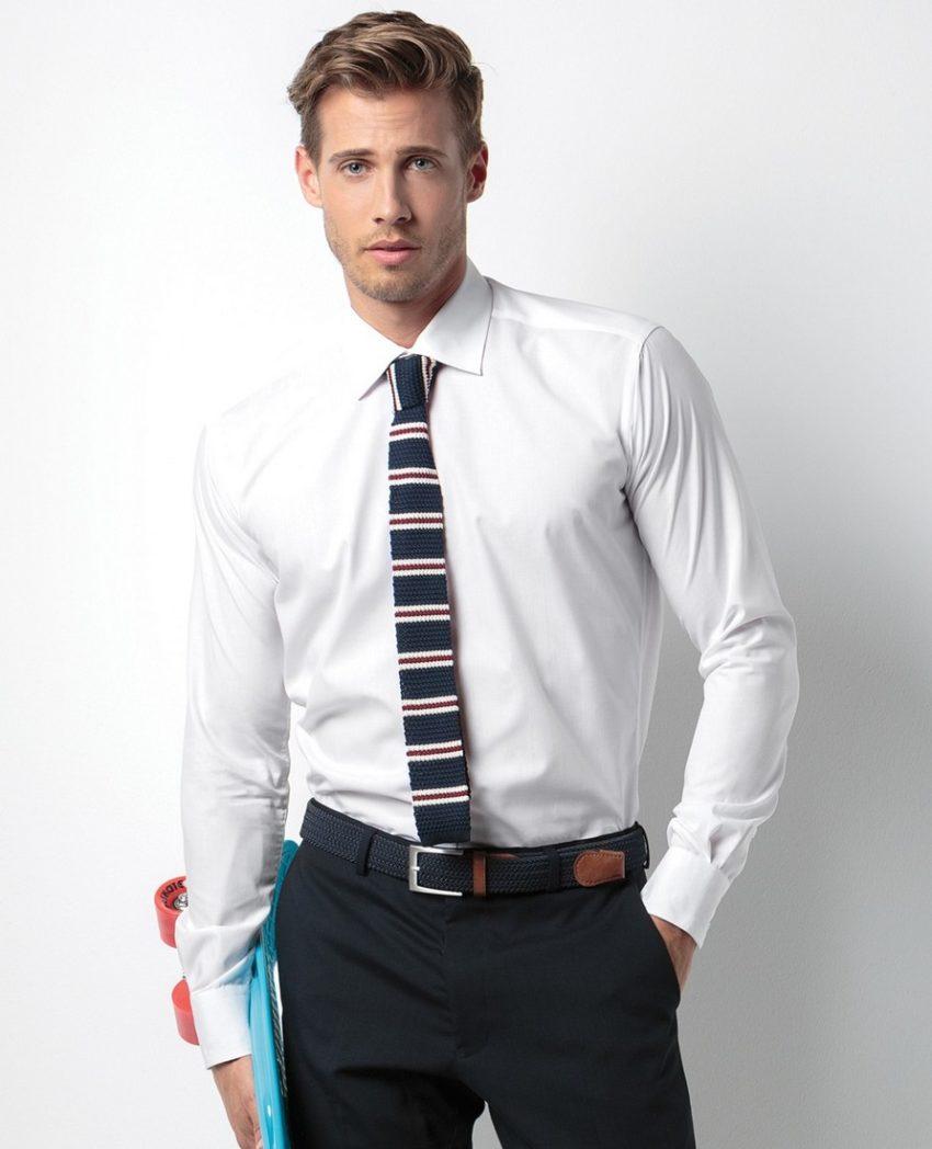 pracovní košile pánské bílé