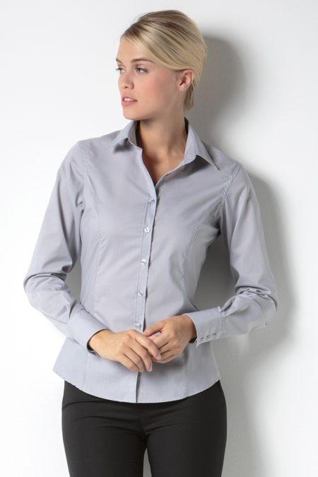 pracovní košile dámské šedé