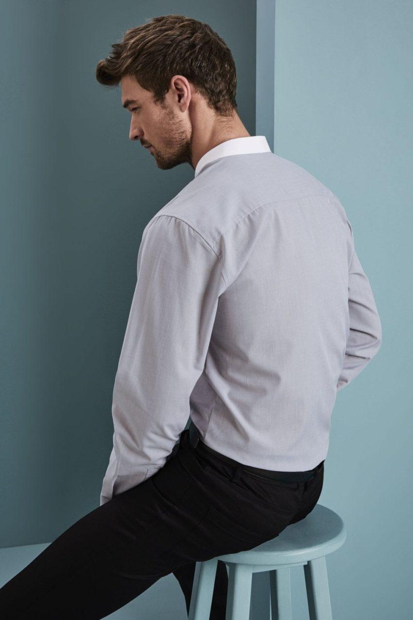 košile pánská se stojáčkem