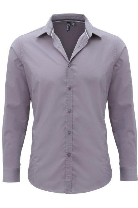 košile šedá