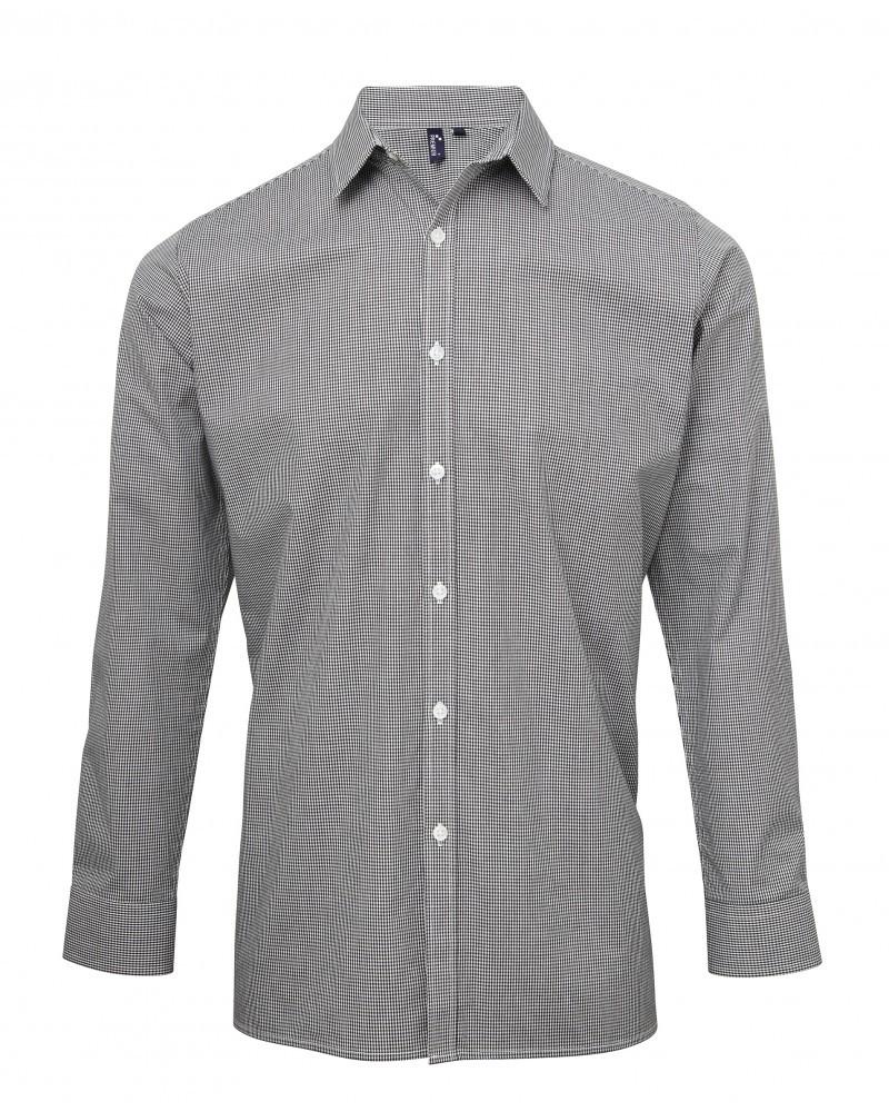 pánské a dámské košile šedé