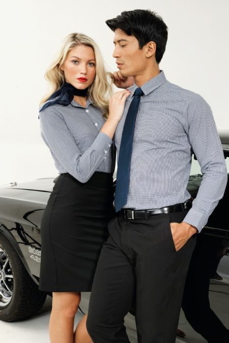 pracovní kalhoty a sukně