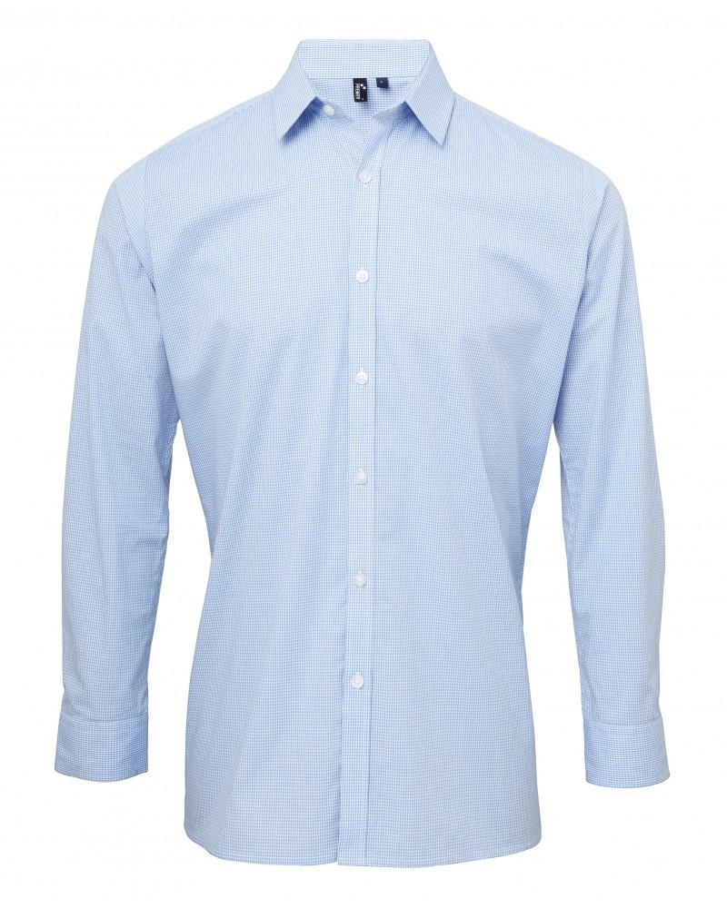 pánské a dámské košile modré