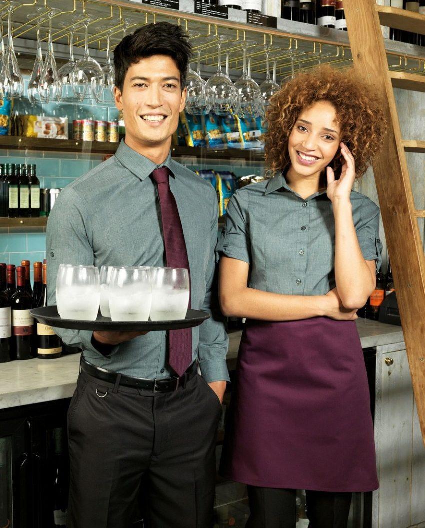 pracovní košile dámské a pánské šedé