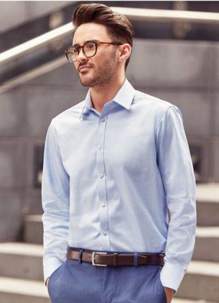 košile pánská tkaný vzor