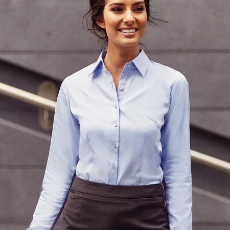 pracovní košile dámské lila