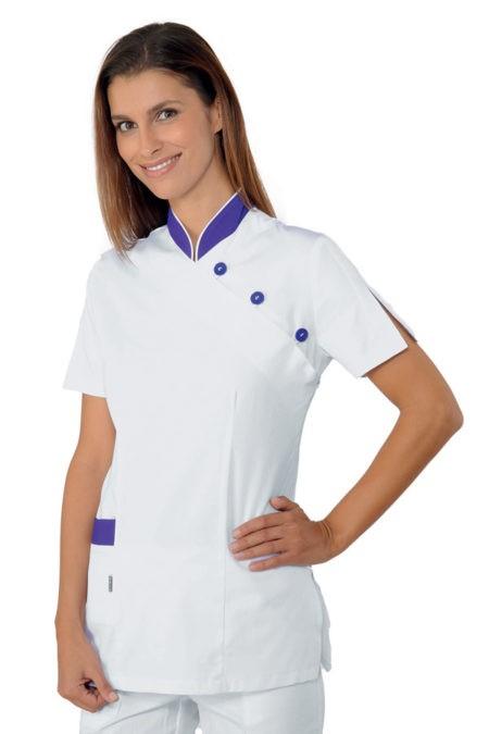 Tunika se stojáčkem, bílá, zdravotnictví, salon, SPA