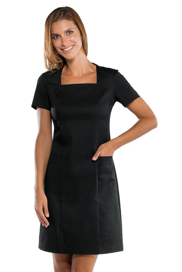 pracovní šaty černé