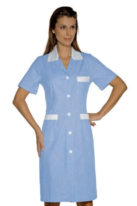 šaty pracovní, modré, zdravotnictví