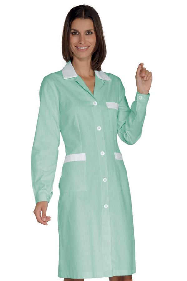 šaty pracovní, pastelově zelené, zdravotnictví