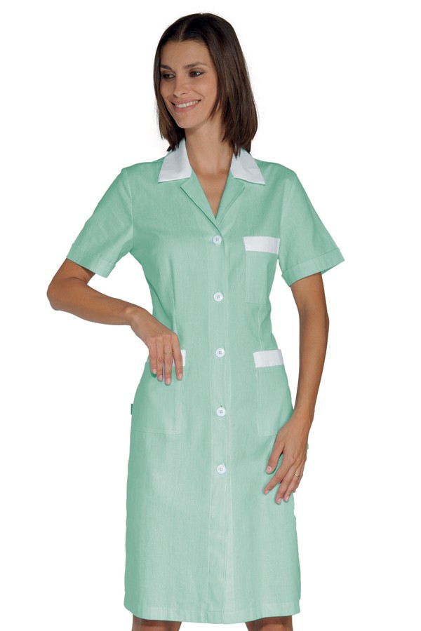 šaty pracovní, světle zelené, zdravotnictví