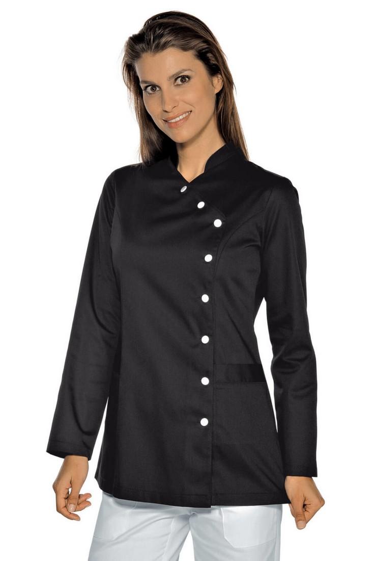 Tunika se stojáčkem, černá, zdravotnictví, salon, SPA