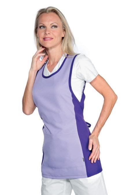 Zástěra lila, fialová, zdravotnictví, salon, SPA