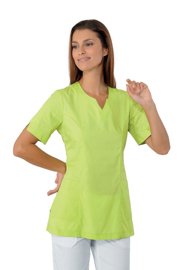 Tunika zelená, limetková, zdravotnictví, kosmetický salon, SPA
