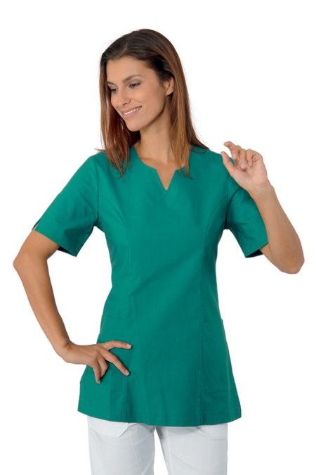 Tunika zelená, zdravotnictví, kosmetický salon, SPA