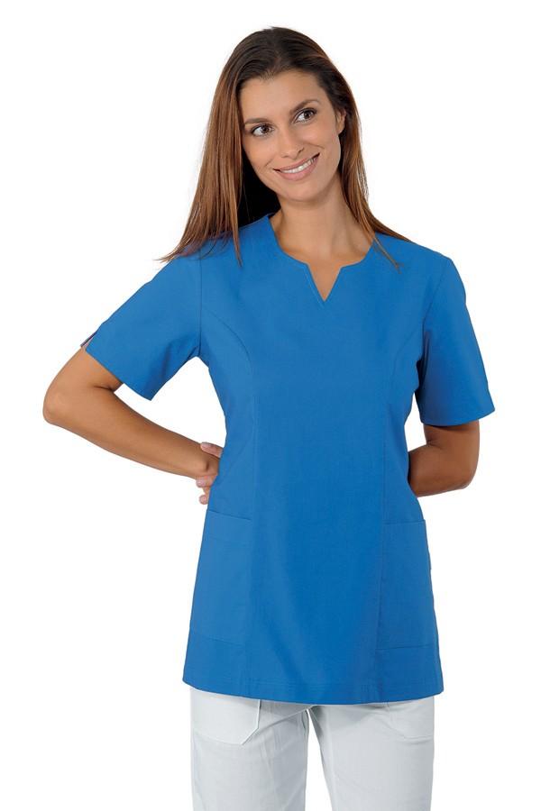 Tunika modrá, zdravotnictví, kosmetický salon, SPA