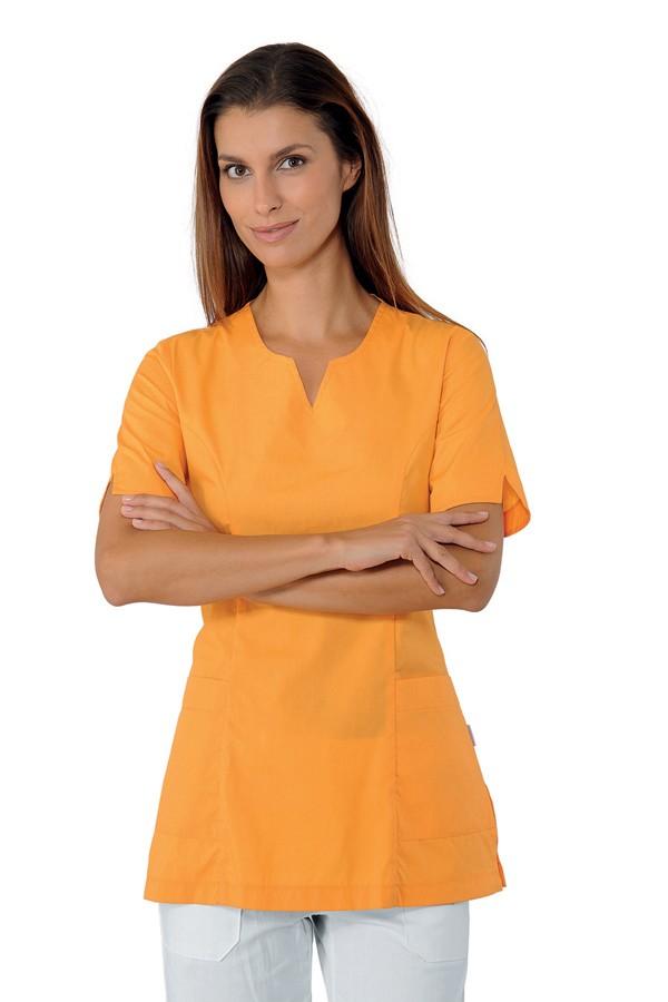 Tunika oranžová, zdravotnictví, kosmetický salon, SPA