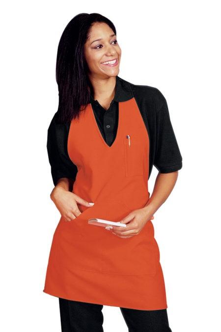 zástěra somelier, oranžová