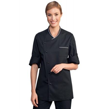 rondony kuchařské dámské černé