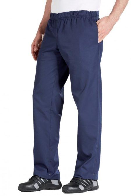 pracovní kalhoty unisex modré