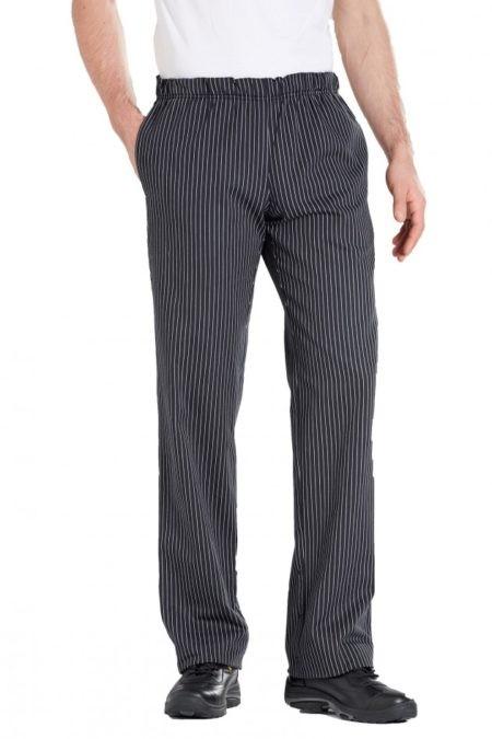 pracovní kalhoty unisex proužek
