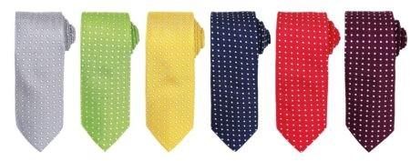 kravaty puntík
