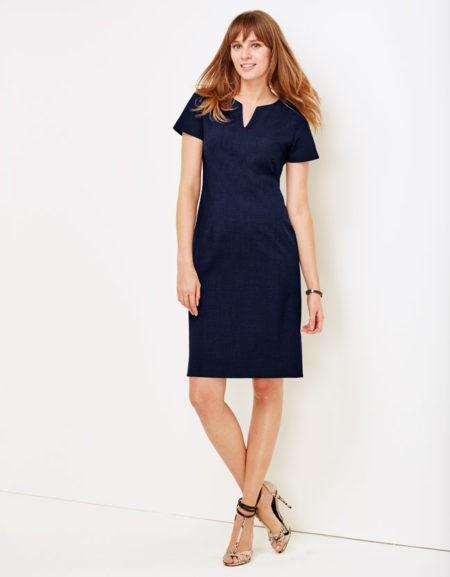 šaty dámské modré