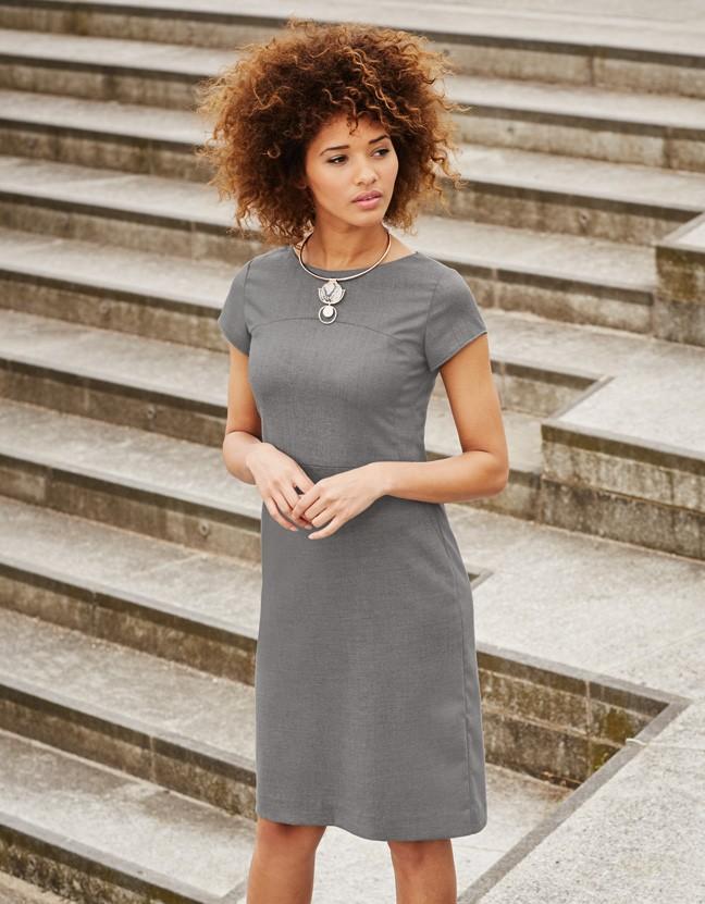 šaty dámské šedé